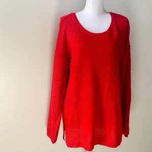 WORKSHOP  trendy dress sweater red size XL